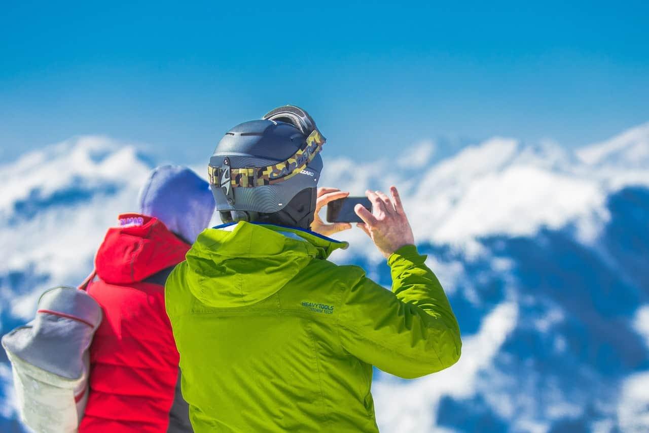 Bozeman Montana Skiing 1
